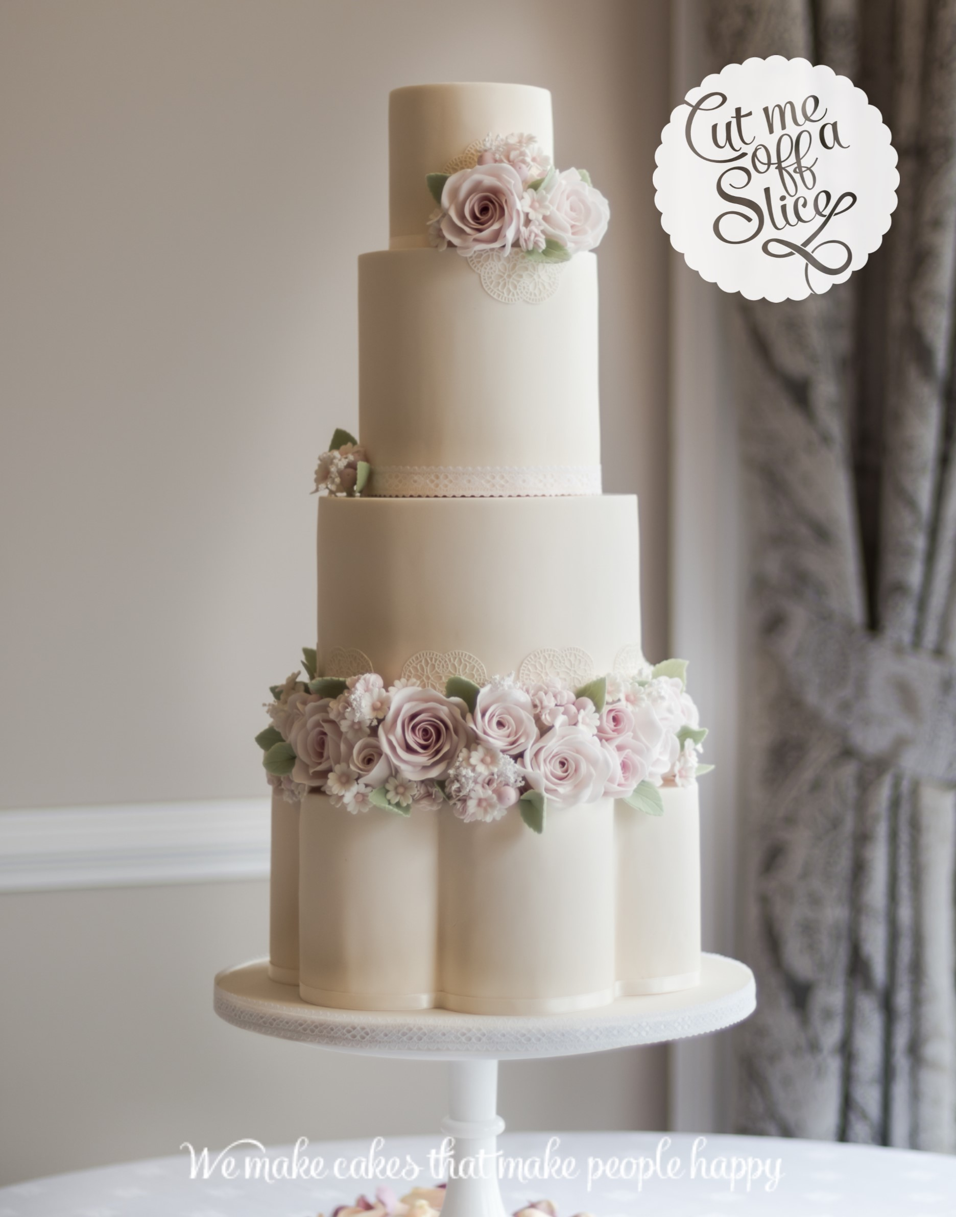 Tiered Wedding Cake Sizes