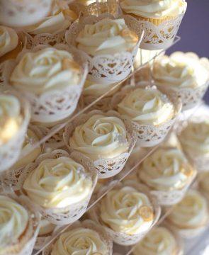 Cream Rose Swirl