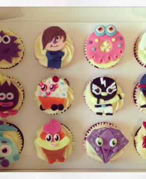 Mushi Monster Cupcakes