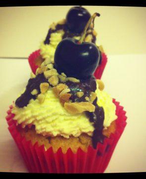 Choc Cherry Cupcakes