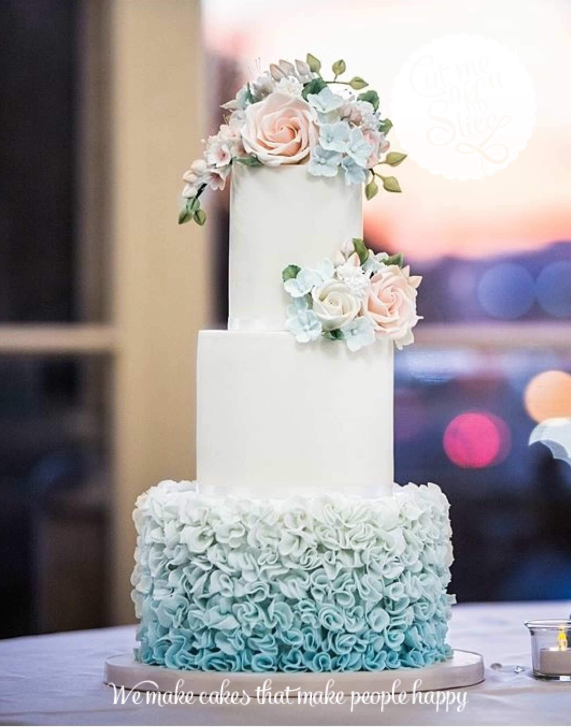 Romantic Wedding Cake Inspiration From Cut Me Off A Slice