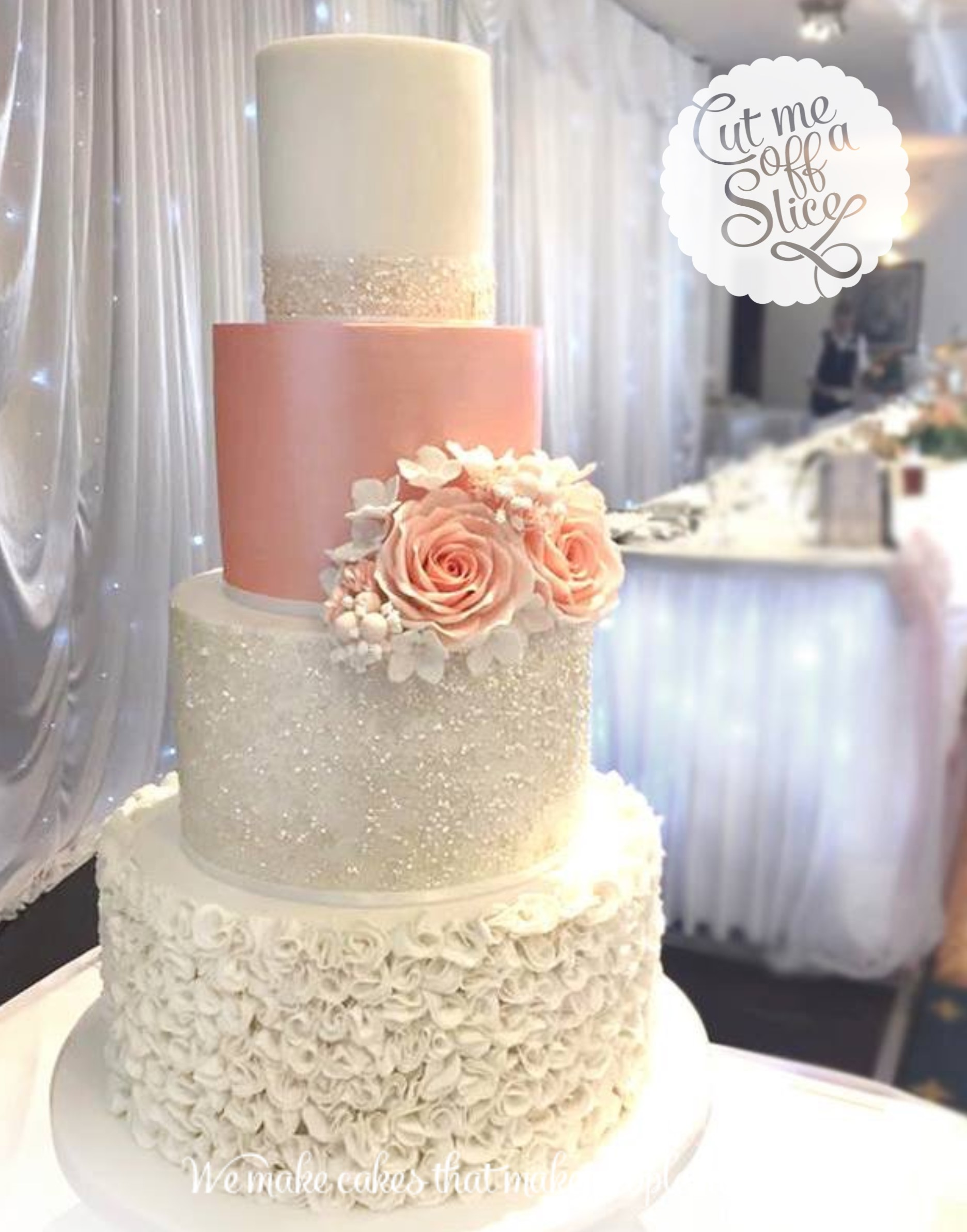 How To Cut A  Tier Wedding Cake