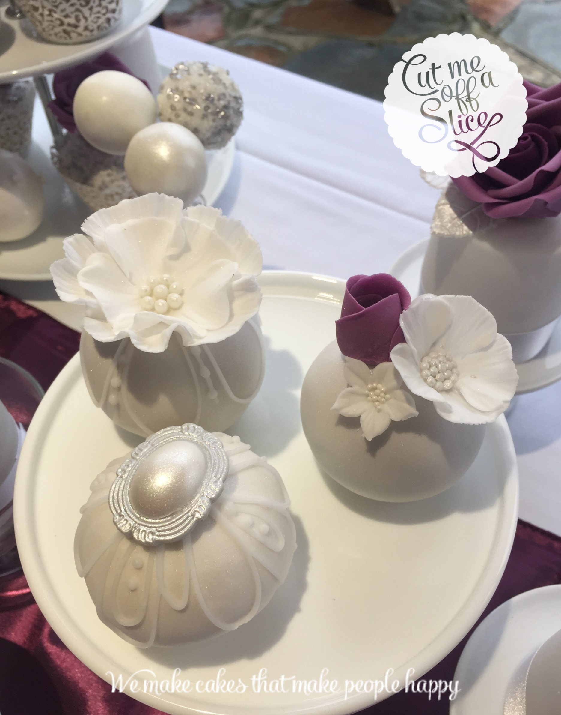 Cup Cakes - Wedding Cakes , Cut me off a slice, the cake makers for ...