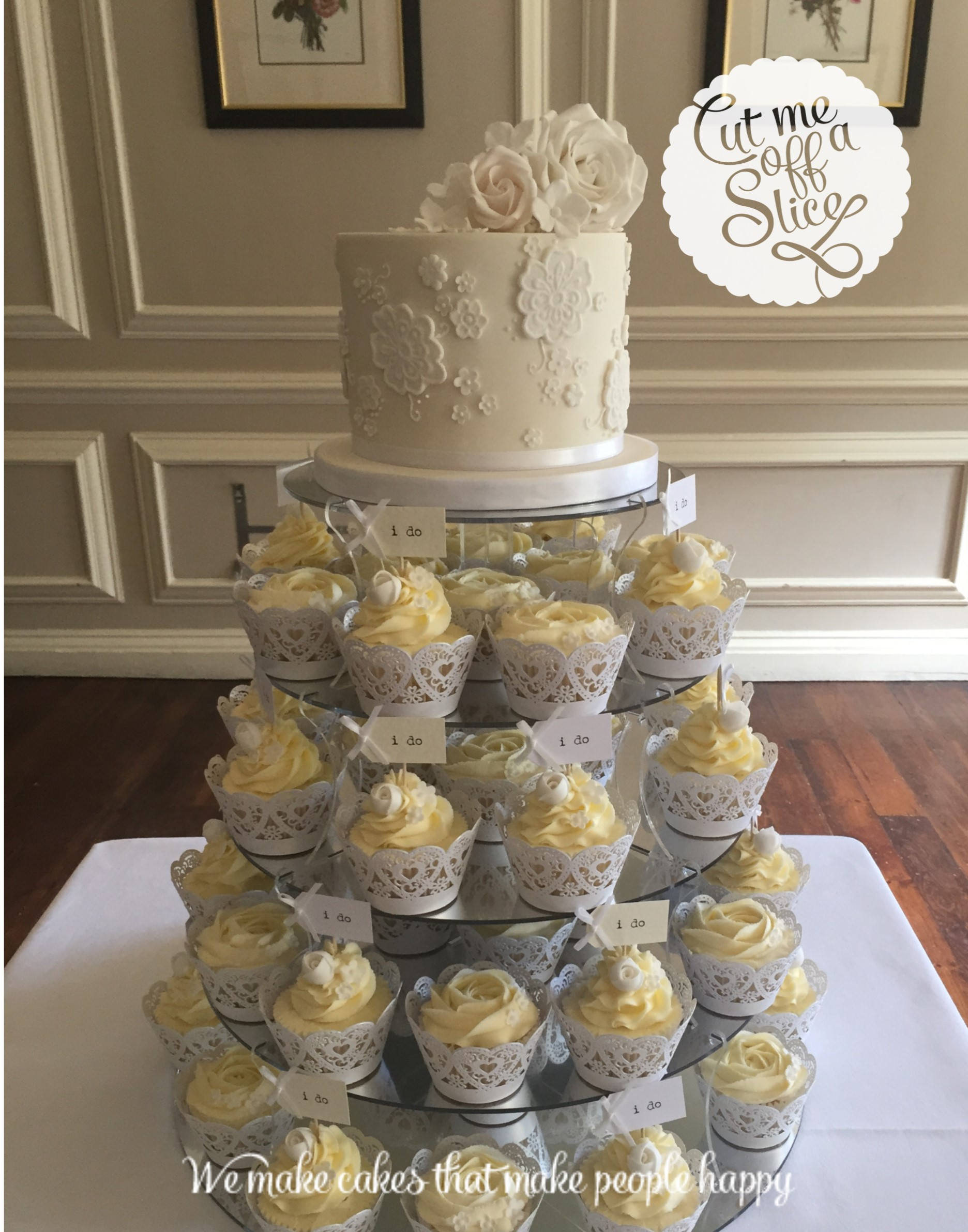 Cup Cakes - Wedding Cakes , Cut me off a slice, the cake makers ...