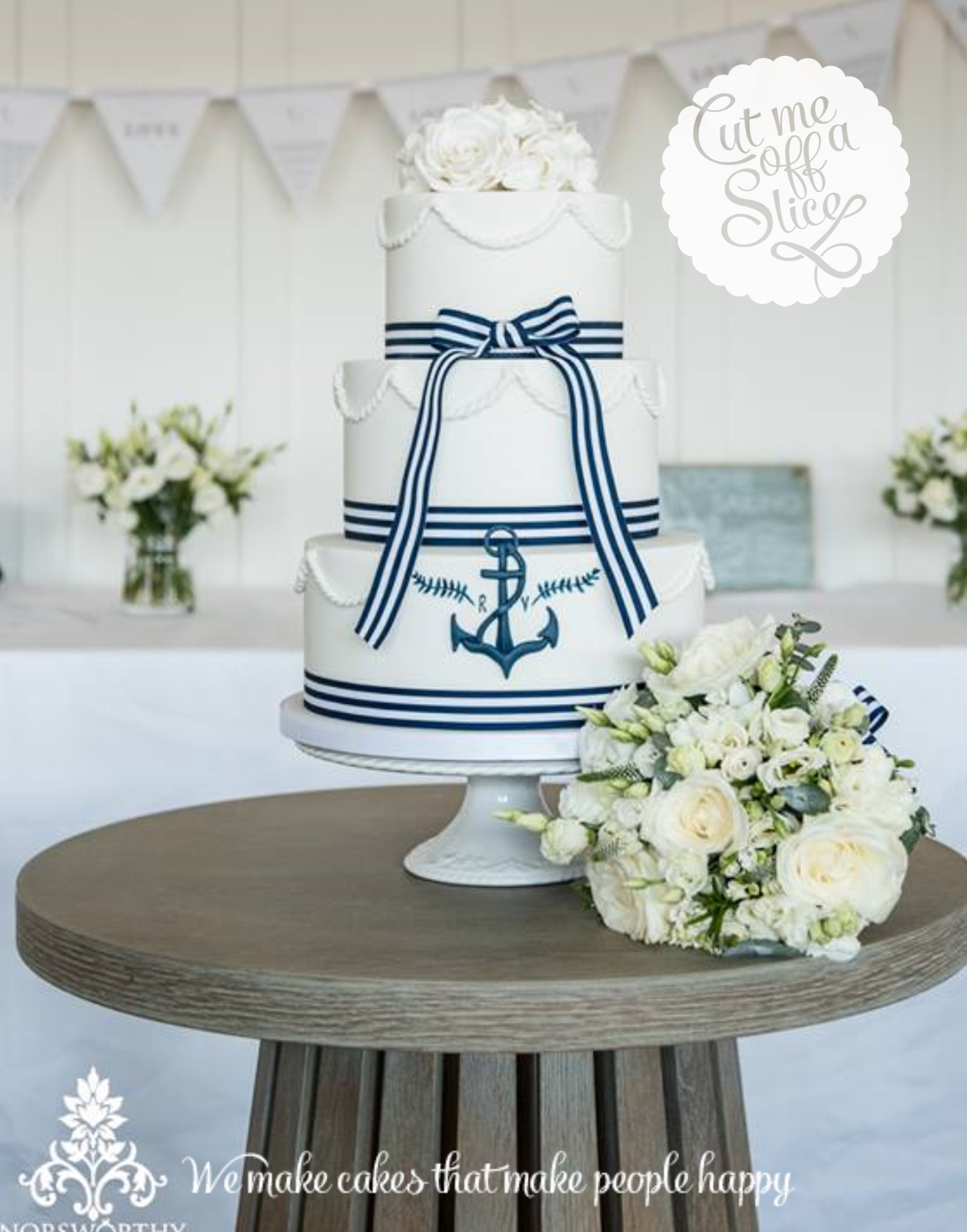 nautical wedding cake ideas themed inspiration cut me a slice the cake makers 17734